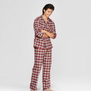 Goodfellow & Co Pajamas Plaid Flannel set XL